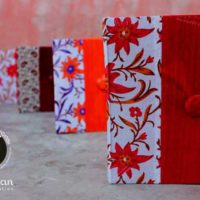 Handcrafted Notebooks:Price/Unit: INR 150+